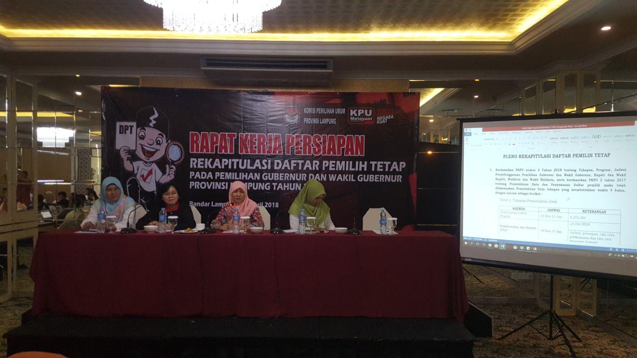 LAMPUNG POST | KPU Pastikan Seluruh Pemilih Terakomodir di DPT