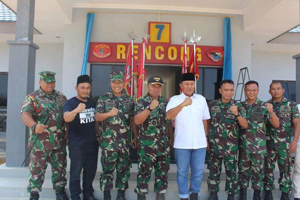 LAMPUNG POST | Kolaborasi Gotong Royong Marinir dan Bupati Lampung Tengah