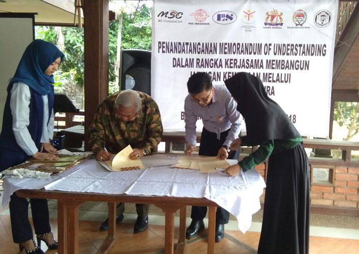 LAMPUNG POST   PT MSC Kembangkan Warung Satmakura Berbasis E-Commerce
