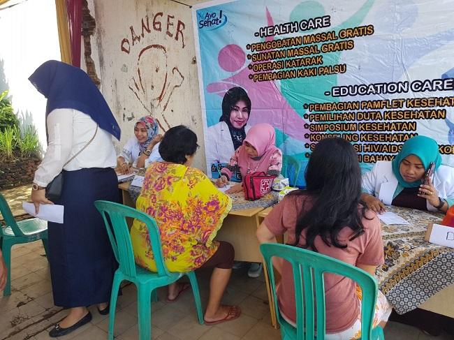 LAMPUNG POST | KSK Lampung Gelar Pengobatan Gratis di Kecamatan Enggal