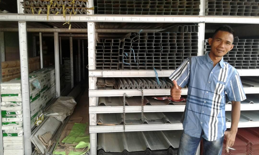 LAMPUNG POST | Prima Jaya Baja Tawarkan Atap Baja Ringan Harga Bersaing