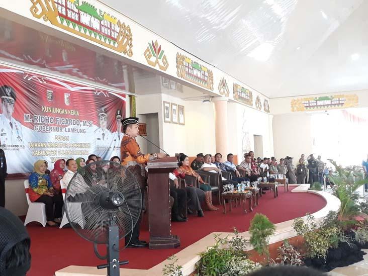 Gubernur Lampung Puji Kekompakan Winarti-Hendriwansyah