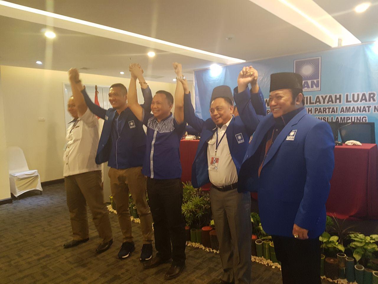 LAMPUNG POST | Zainudin Hasan Jadi Ketua PAN Lampung, Gantikan Bachtiar Basri