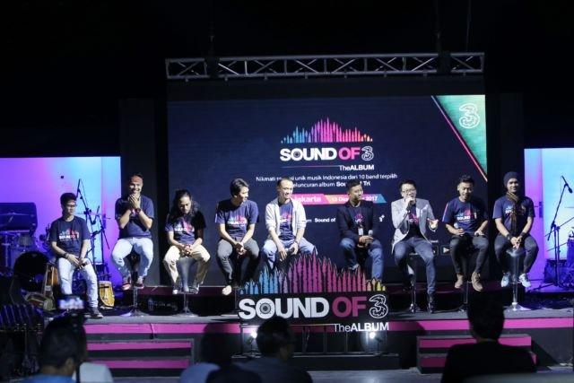 LAMPUNG POST | Tri Indonesia Rilis Digital Album Sound of Tri