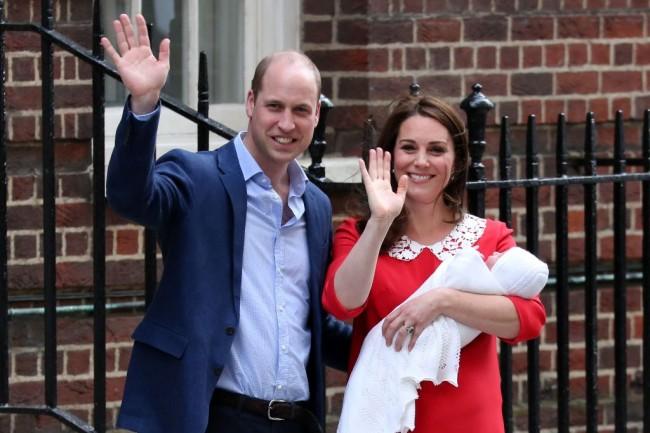 Kate Middleton dan Pangeran William Sambut Kelahiran Anak Ketiga