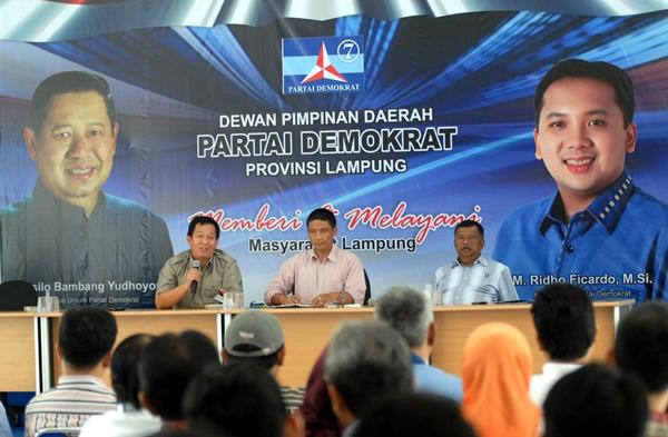 LAMPUNG POST | Demokrat Bakal  Berikan Kejutan di Pilgub