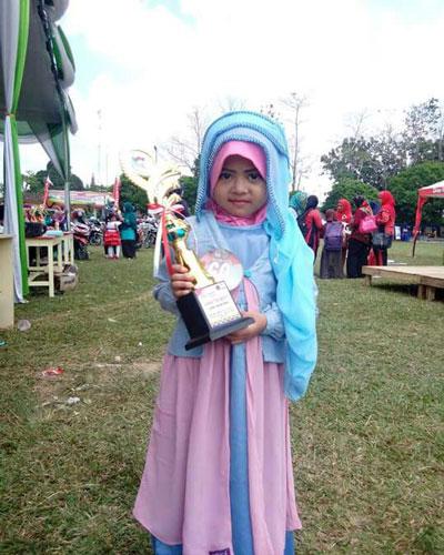 LAMPUNG POST | Navilla Wafda Fahim Selalu Berani Tampil