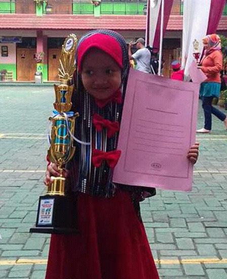 LAMPUNG POST | Nayyara Jawara Dai Cilik