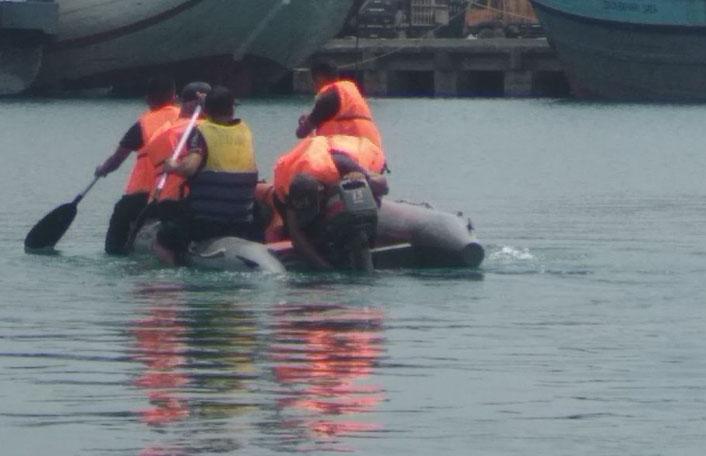 BPBD dan Basarnas Cari Pemancing Tenggelam di Pelabuhan Panjang