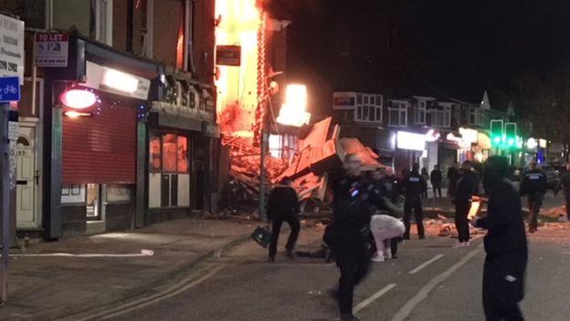 Ledakan Guncang Leicester, 6 Orang Terluka