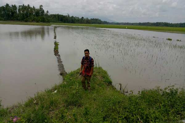 Penanganan Banjir di Lampung Tengah Lambat