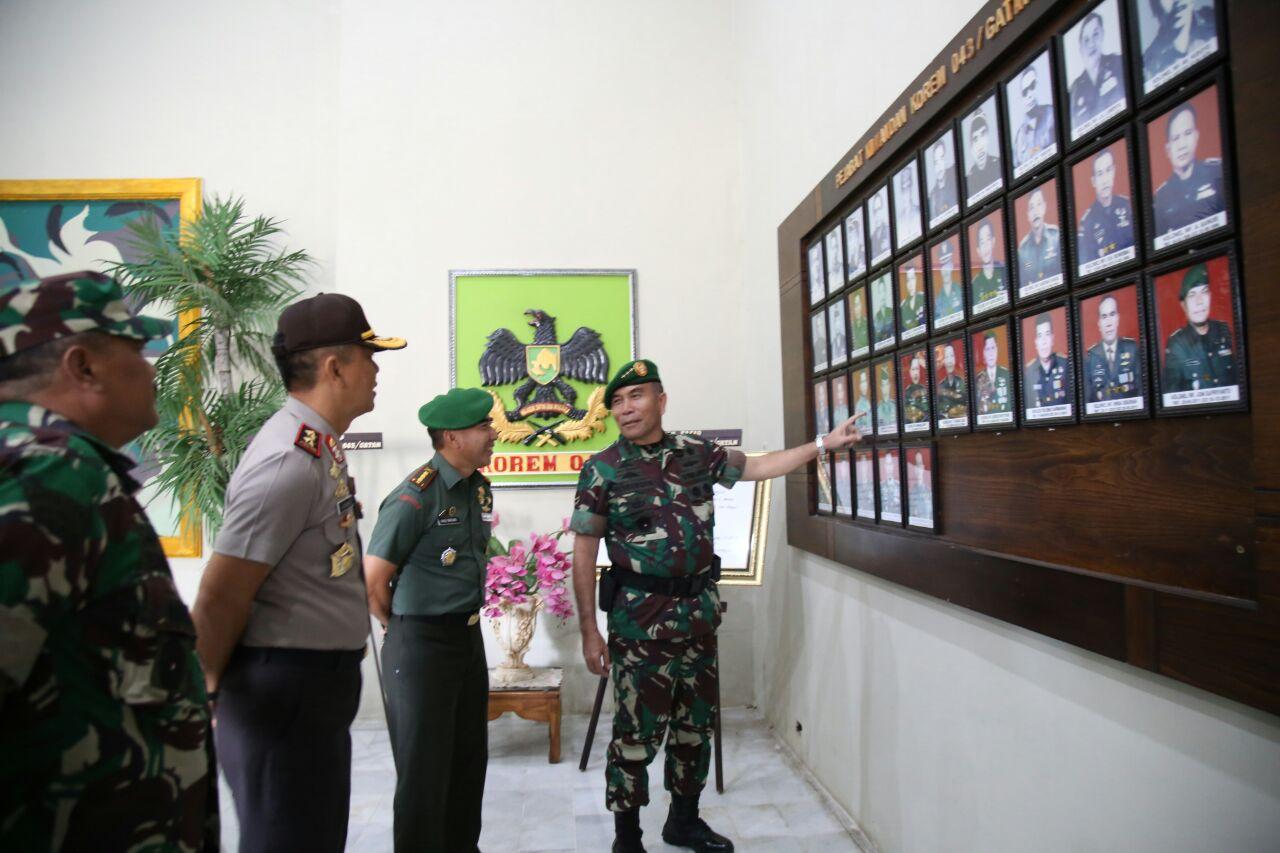 LAMPUNG POST   Wakasad TNI akan Mempercepat Kenaikan Tipe Korem 043 Garuda Hitam