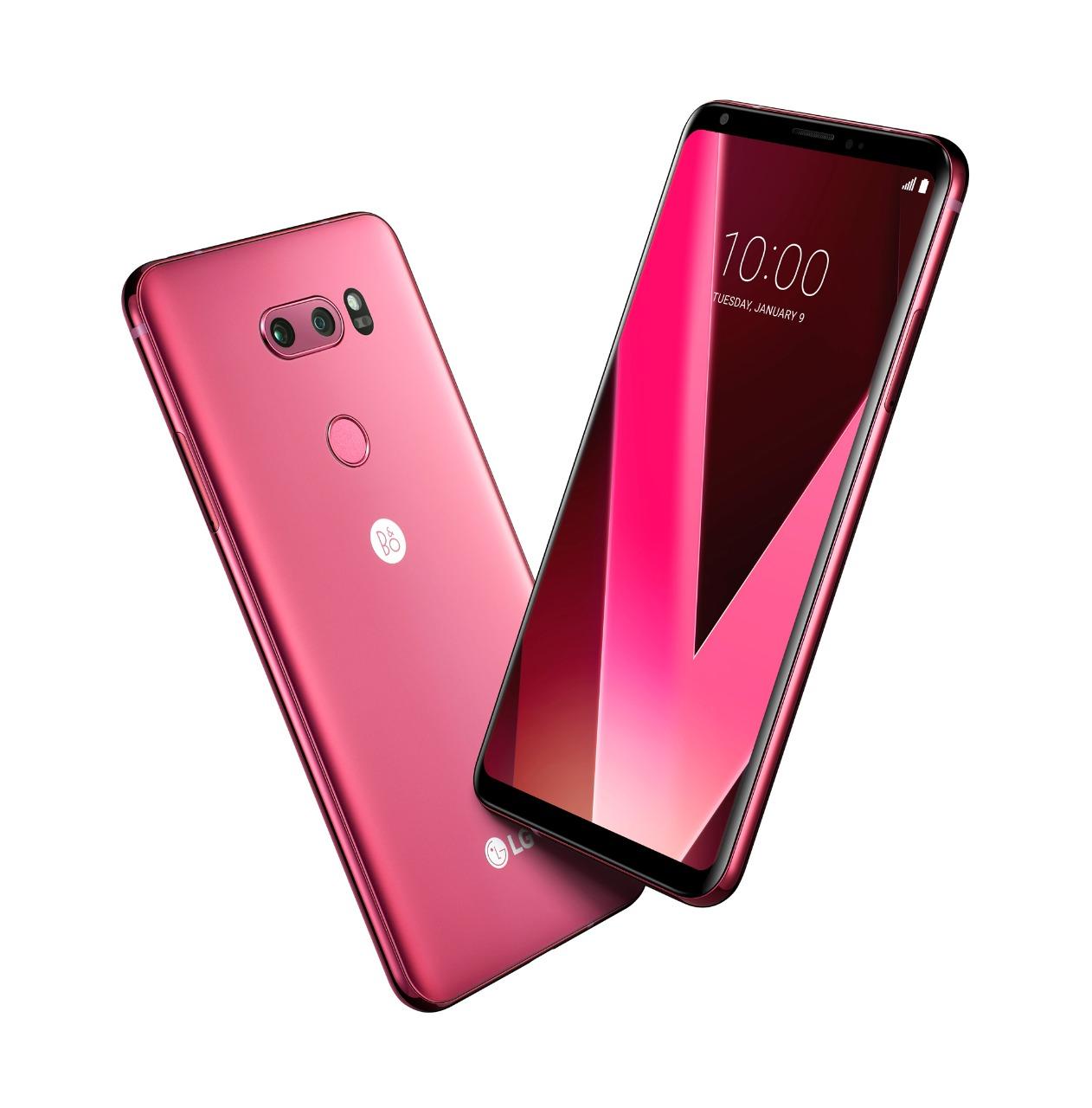 LAMPUNG POST | LG Gandeng JD.ID Pasarkan V30 Plus Raspberry Rose