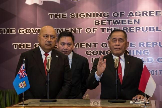 LAMPUNG POST | Fiji Dukung Penuh Kedaulatan Indonesia di Wilayah Papua