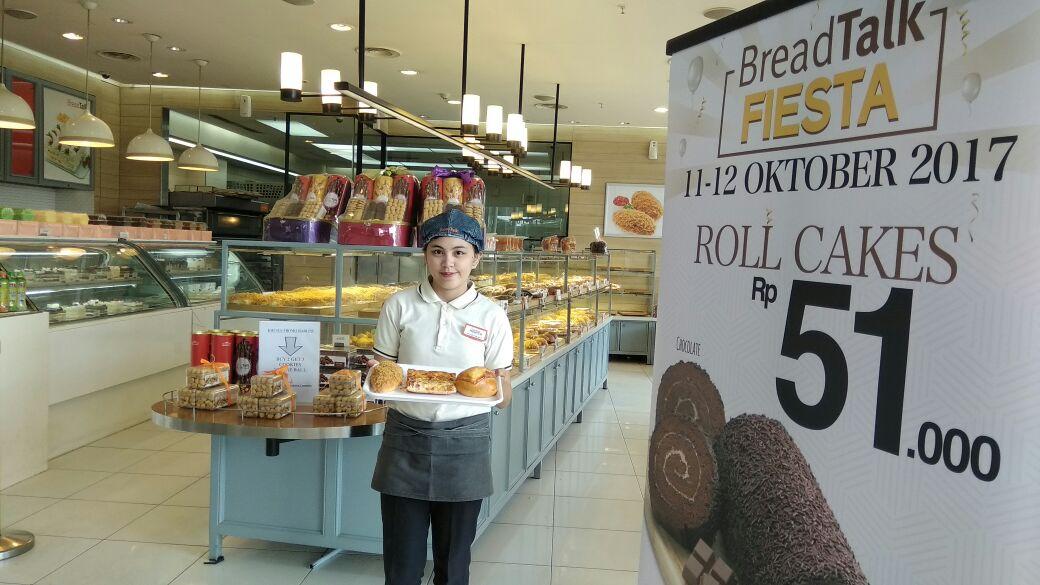 LAMPUNG POST | Breadtalk Promosi Roti Rp7.500