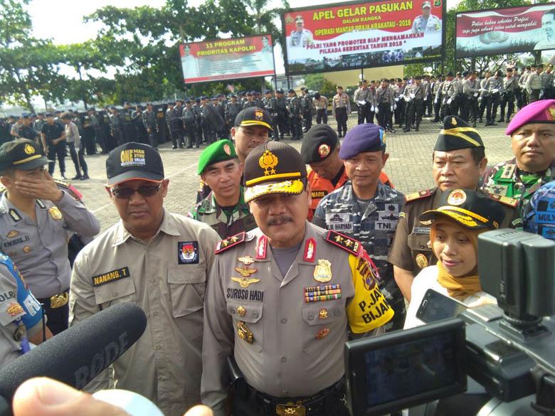 LAMPUNG POST | Polda Lampung Siap Amankan Pilkada Serentak