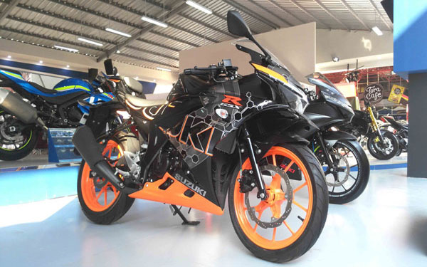 LAMPUNG POST | Suzuki Boyong Motor Modifikasi di Jakarta Fair