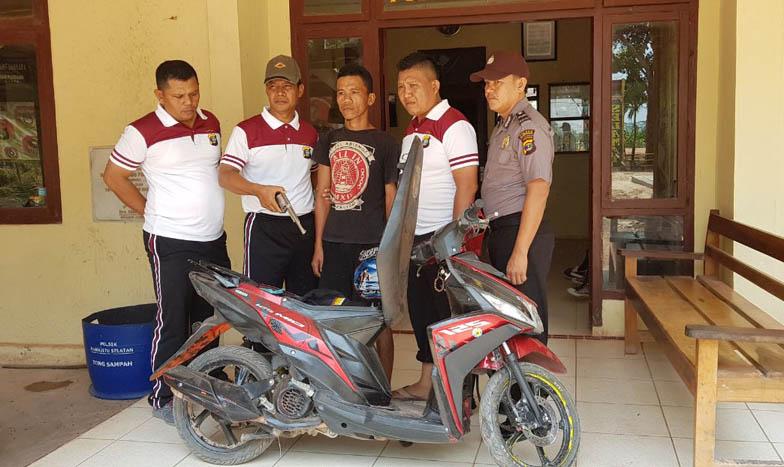 Bawa Senpi, Warga Sungaiceper Ditangkap Polisi