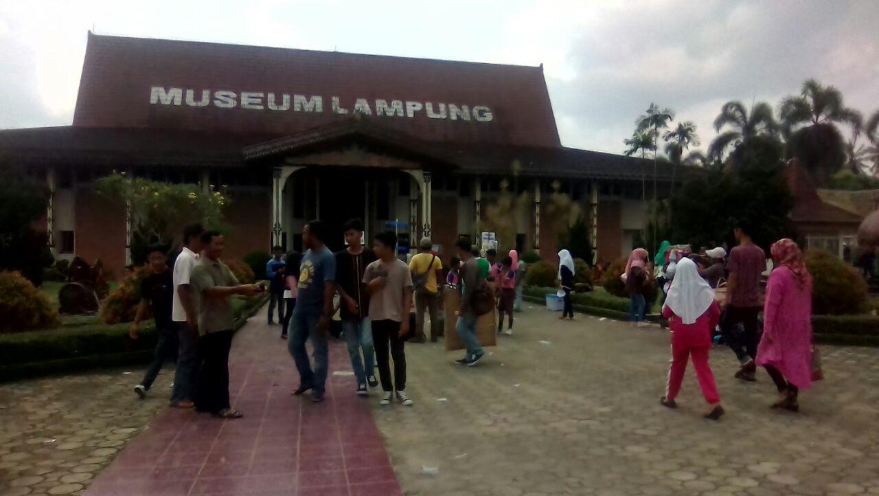 Libur Sekolah Museum Lampung Kebanjiran Pengunjung