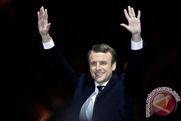 LAMPUNG POST    Setelah Dilantik,Emmanuel Macron Bakal Tunjuk Perdana Menteri