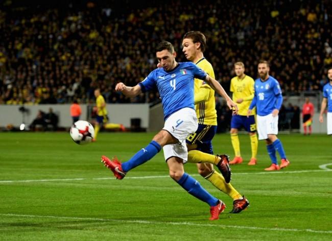 LAMPUNG POST | Keok dari Swedia, Italia Terancam Tak Lolos Piala Dunia