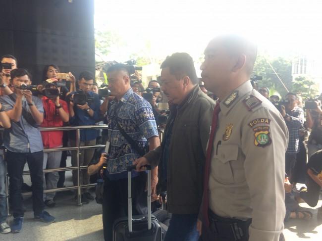 LAMPUNG POST | Empat Orang Hasil OTT Banjarmasin Tiba di Jakarta