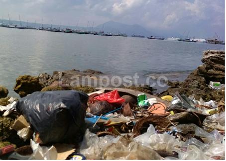 LAMPUNG POST | Pemkab Peswaran Koordinasikan Masalah Sampah di Laut