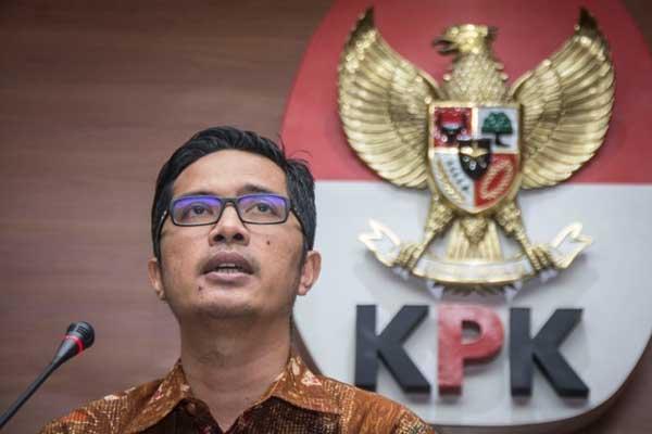 Bupati Lampung Tengah Mustafa Tiba di Gedung KPK