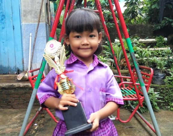Angelina Fortunela: Juara Model Cilik
