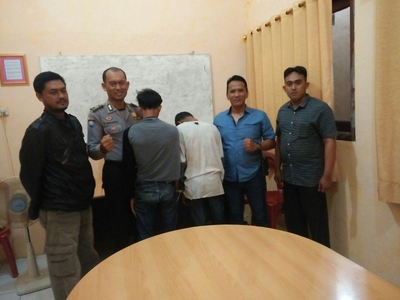 LAMPUNG POST | Polsek Padangcermin Ringkus Dua Pelajar Pelaku Curas