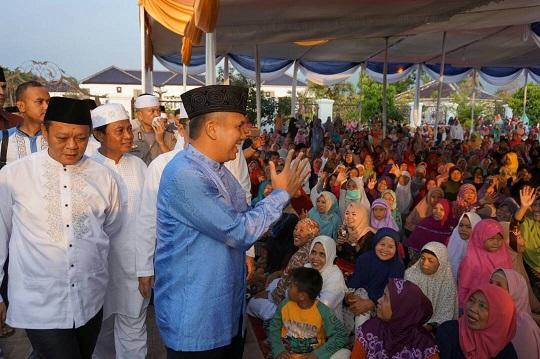 LAMPUNG POST | Gubernur Ridho Imbau Masyarakat Tingkatkan Keimanan