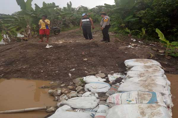 Banjir Hantui Ratusan Petani di Palaspasemah dan Palasaji