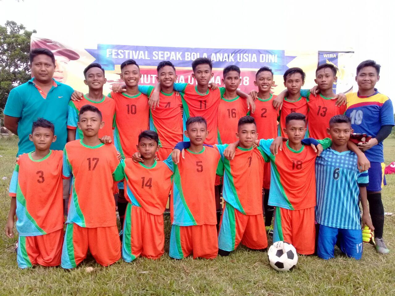 SSB Wira Utama Raih Dua Gelar di Piala RD 2018