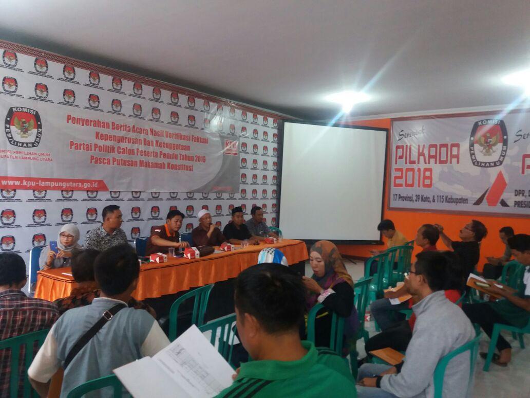 KPU Lamsel Kejar Akurasi Pemilih di Disdukcapil Lamsel