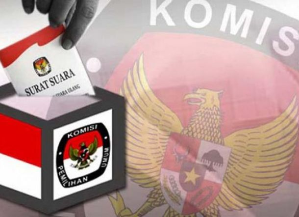 KPU Lampung Sosialisasi Pilkada lewat Jalan Sehat