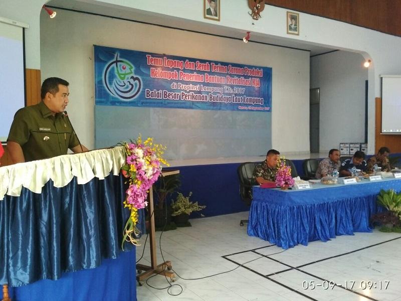 LAMPUNG POST   BBPBL Gelar Temu Lapang di Desa Hanura