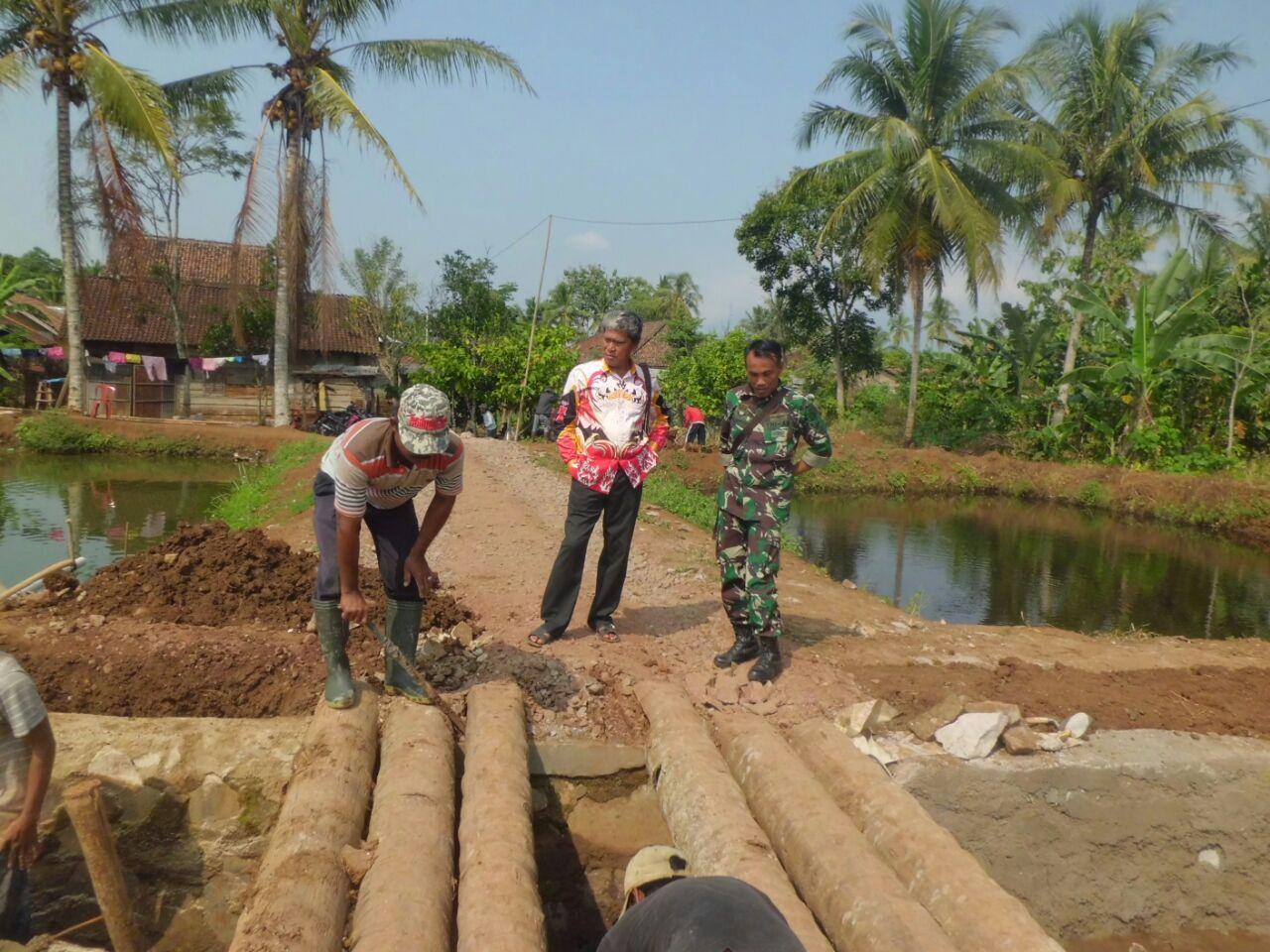 LAMPUNG POST | Pekon Muara Dua Andalkan Dana Desa untuk Pembangunan Prasarana