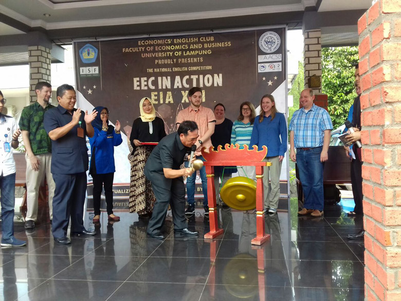 LAMPUNG POST | FEB Unila Gelar EEC In Action XVII 2018