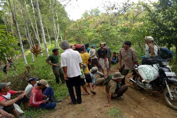 Mahout Lembah Hijau Bantu Giring Gajah TNBBS