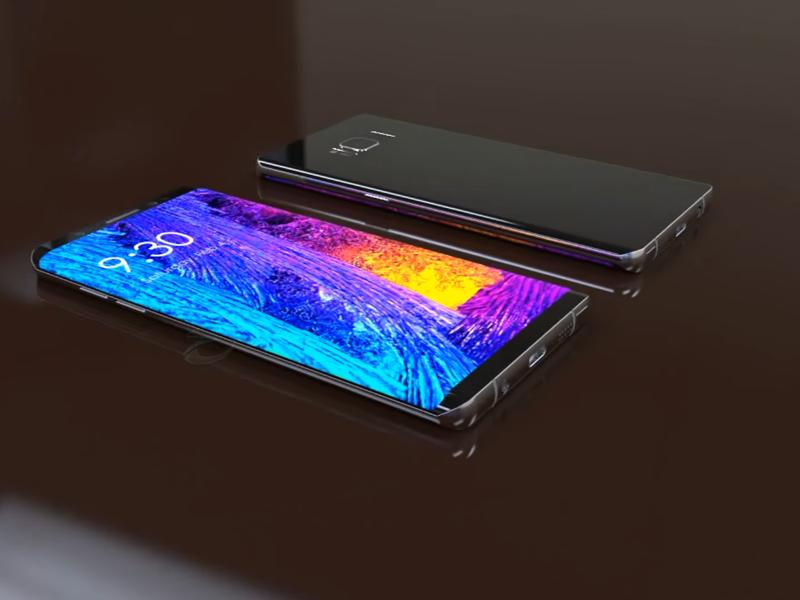 LAMPUNG POST   Samsung Galaxy Note 8 Pakai Fingerprint Belakang