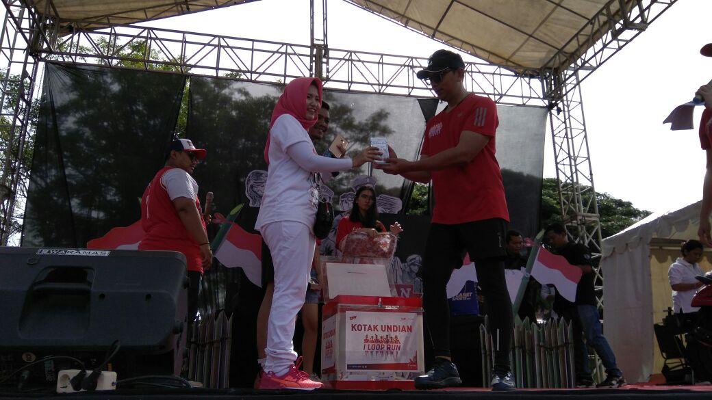 LAMPUNG POST   I LOOP Fun Run Local Hero di Bandar Lampung Merish