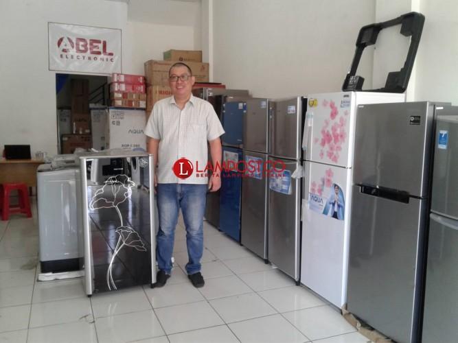 Abel Elektronik Rintis Penjualan Produk Reject di Lampung