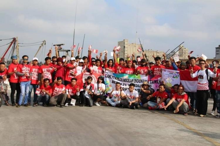 ABK Indonesia di Taiwan Deklarai Menangkan Jokowi-Amin