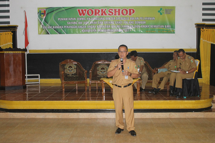 LAMPUNG POST | Tekan AKI-AKB, Dinkes Tanggamus Gelar Workshop