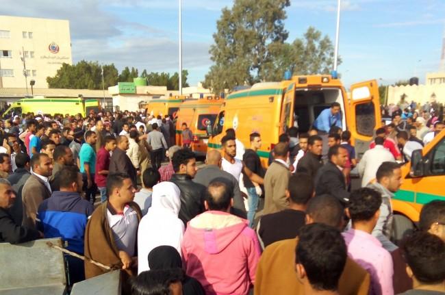Korban Tewas Serangan di Masjid Sinai Mesir Lampaui 300 Orang