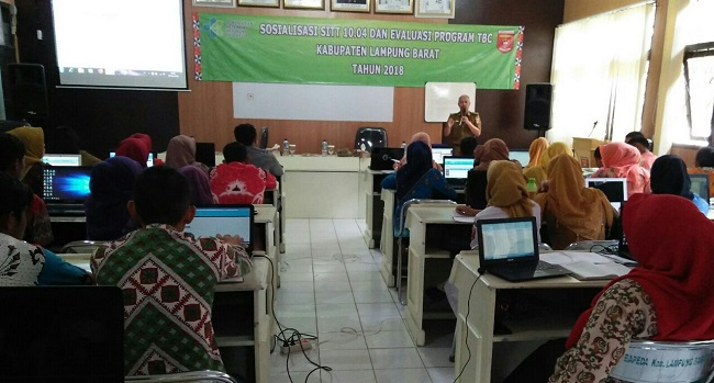 LAMPUNG POST | Dinkes Lampung Barat Gelar Sosialisasi SITT