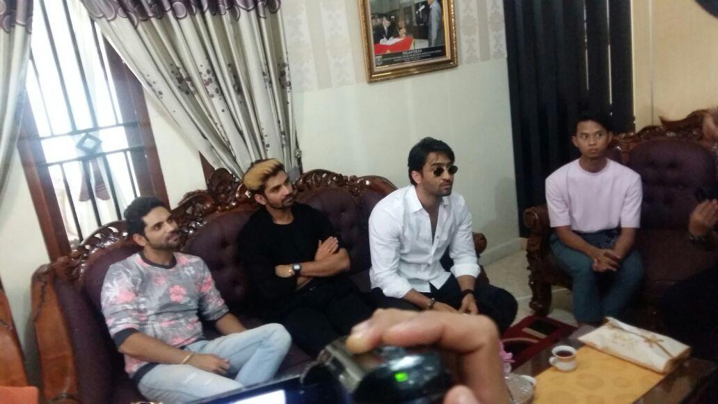 LAMPUNG POST   Tiga Bintang Serial India ANTV Sapa Penonton di Metro