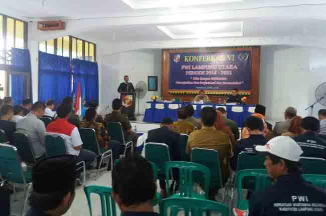 PWI Lampung Apresiasi PWI Lampura Demisioner