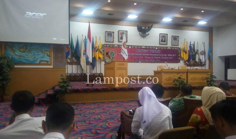 LAMPUNG POST | Ridho Janji Beri Insentif untuk Tenaga Kesehatan Non-PNS