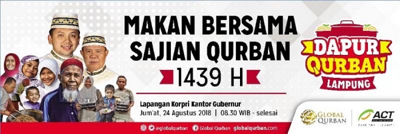 ACT dan Pemprov Lampung Akan Gelar Dapur Qurban